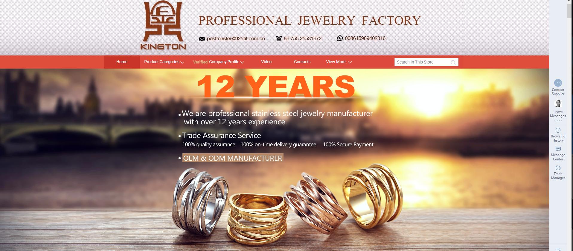 negocio de joyas con kington